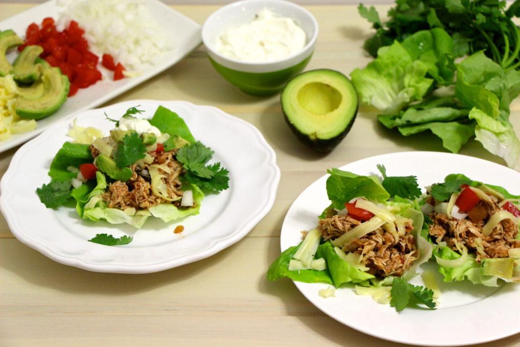 Crockpot Chicken Tacos - Meghan Birt