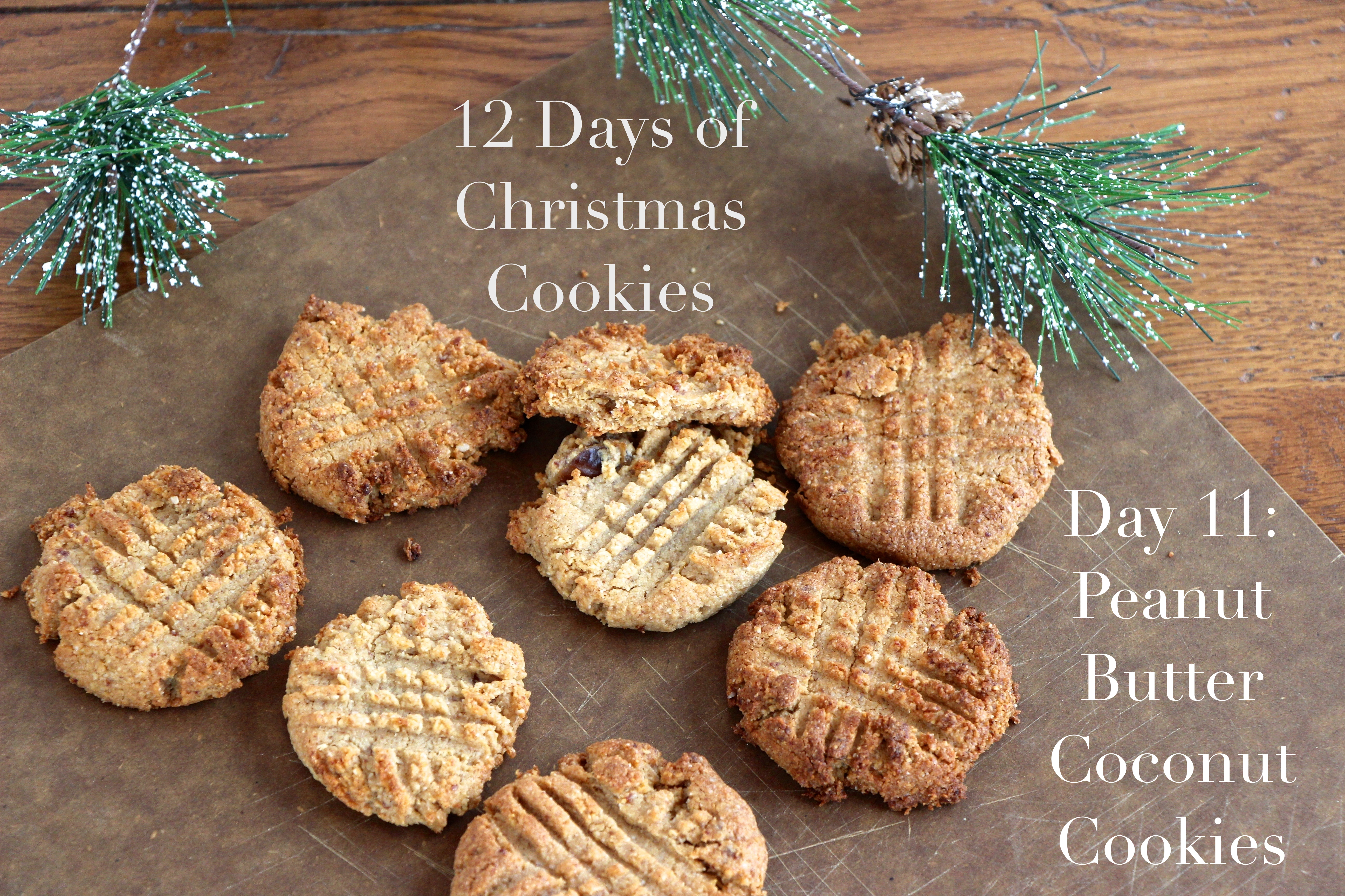 Day 11: Peanut Butter Coconut Cookies | Meghan Birt