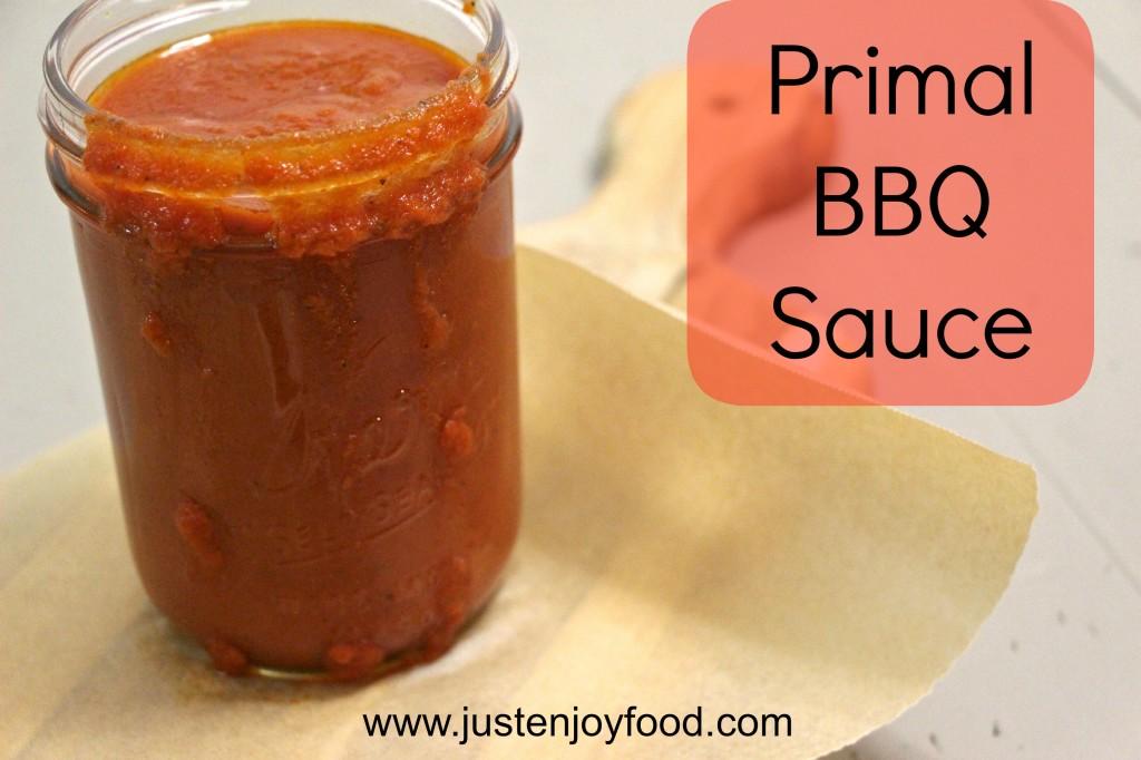 Primal BBQ Sauce Graphic