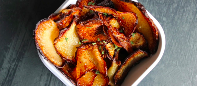 Guest Post: Zesty Turnip Chips