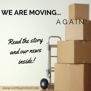 WE ARE MOVING... AGAIN