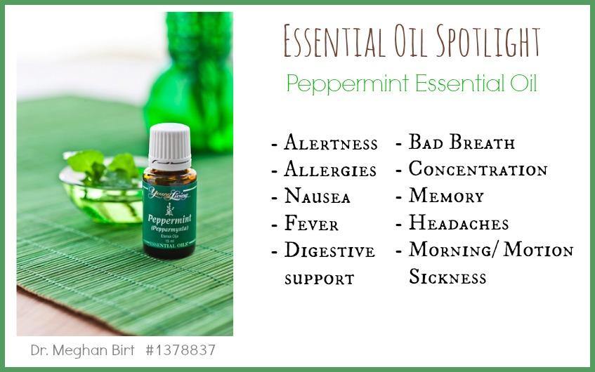 Essential Oil Spotlight Peppermint Oil- Dr. Meghan Birt