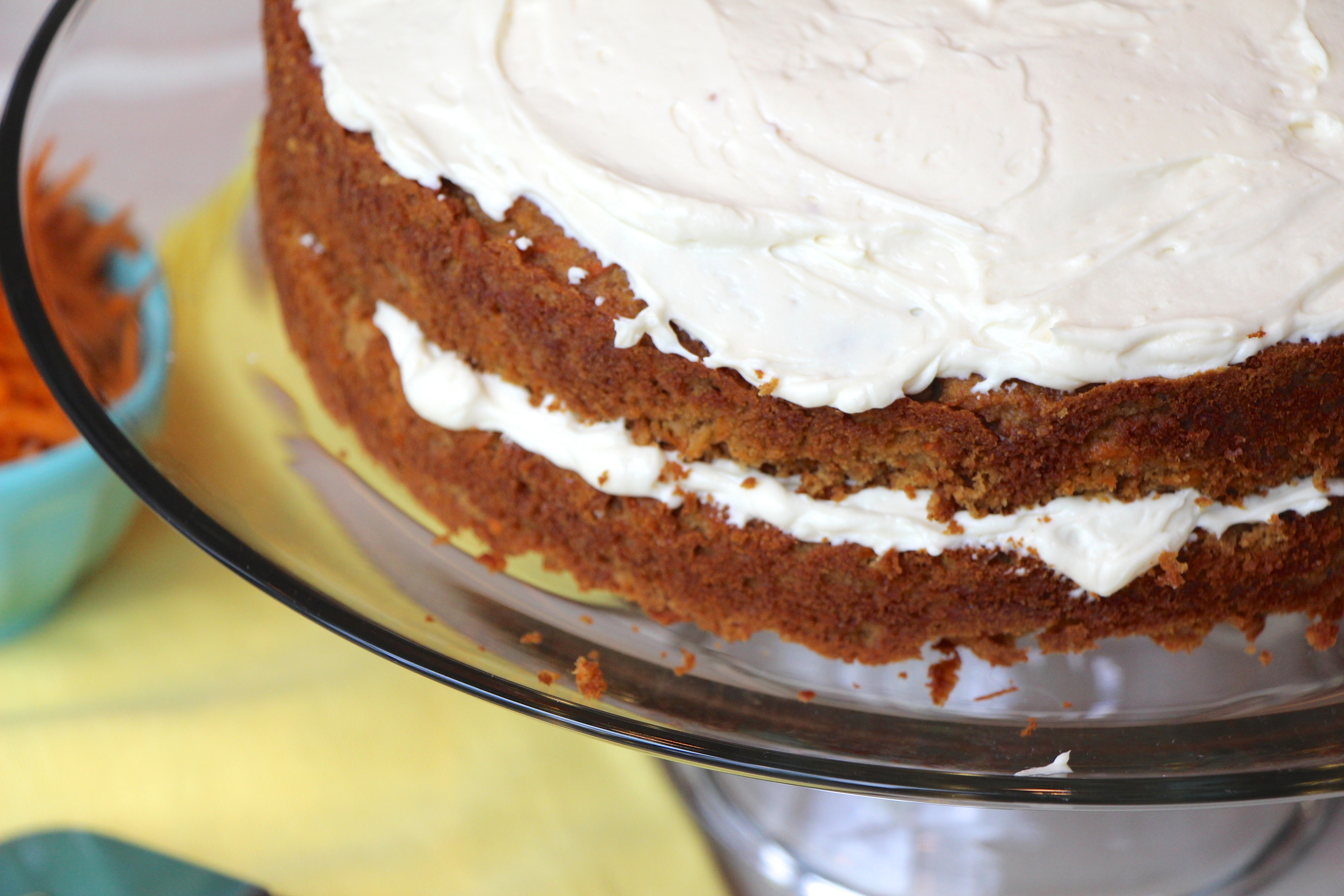 Carrot Cake with Cream Cheese Frosting (Grain-Free)