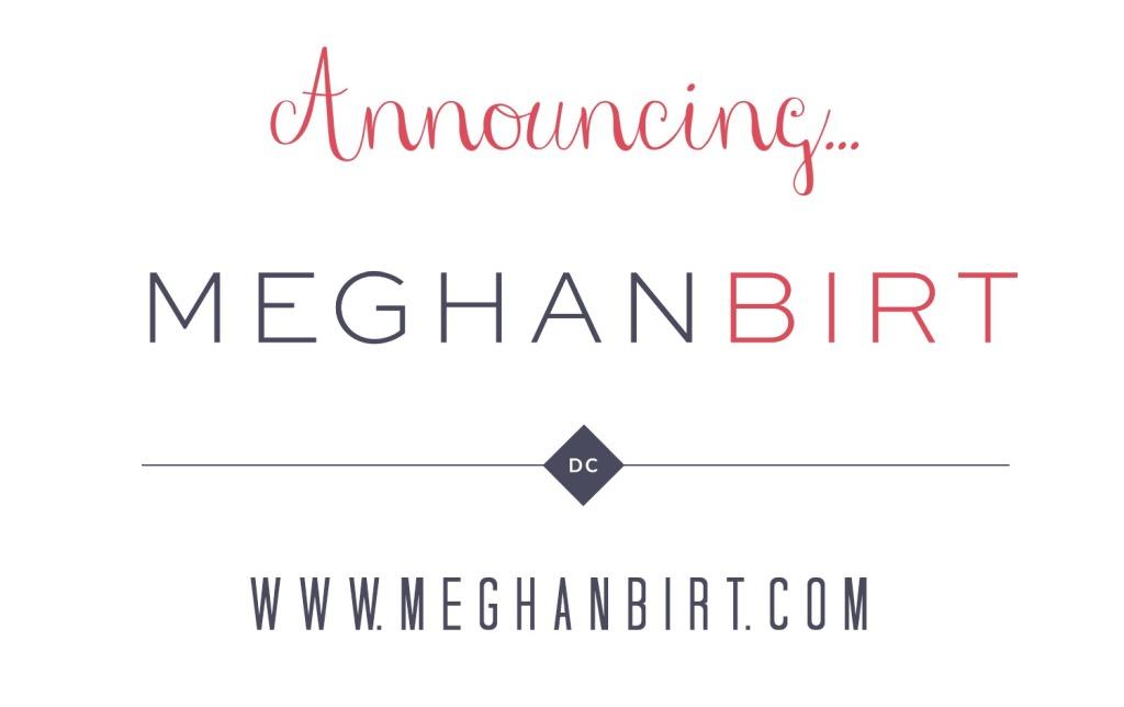 Announcing Meghan Birt